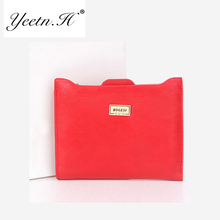 2017 New Small  Slim Women Red Wallet  Zipper Ladies PU Leather Coin Purses Female Purse Mini Clutch Cheap Womens Wallet M4512