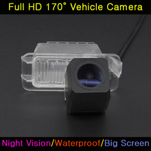 For Ford Fiesta Focus 2 S-MAX S Max Mondeo Kuga Escape 2013 Car Full HD Night Vision Backup Rear View Camera Waterproof Parking