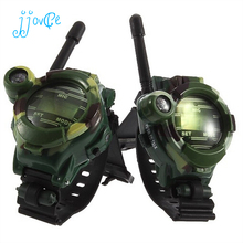 2PCS Children Toy Walkie Talkie Child Watches Outdoor Interphone Child Interphone Outdoor Kids Gifts Toys(China)