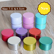 12pcs/lot Cheap Mini Tea Food Storage Box, Small Metal Coins Candy Case, Makeup Jewelry Tin Box Candy Organizer for Christmas(China)