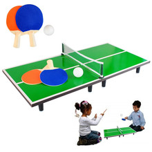 Classic Mini Desktop Table Tennis Game Toys Kids Parent Interactive Puzzle Desk Ping Pang Board Games(China)