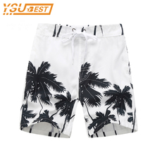 Boys Casual Swimming Trunks Kids Clothing 2017 Summer Children Board Shorts Fashion Style Quick Drying Liver Short Coconut Trees