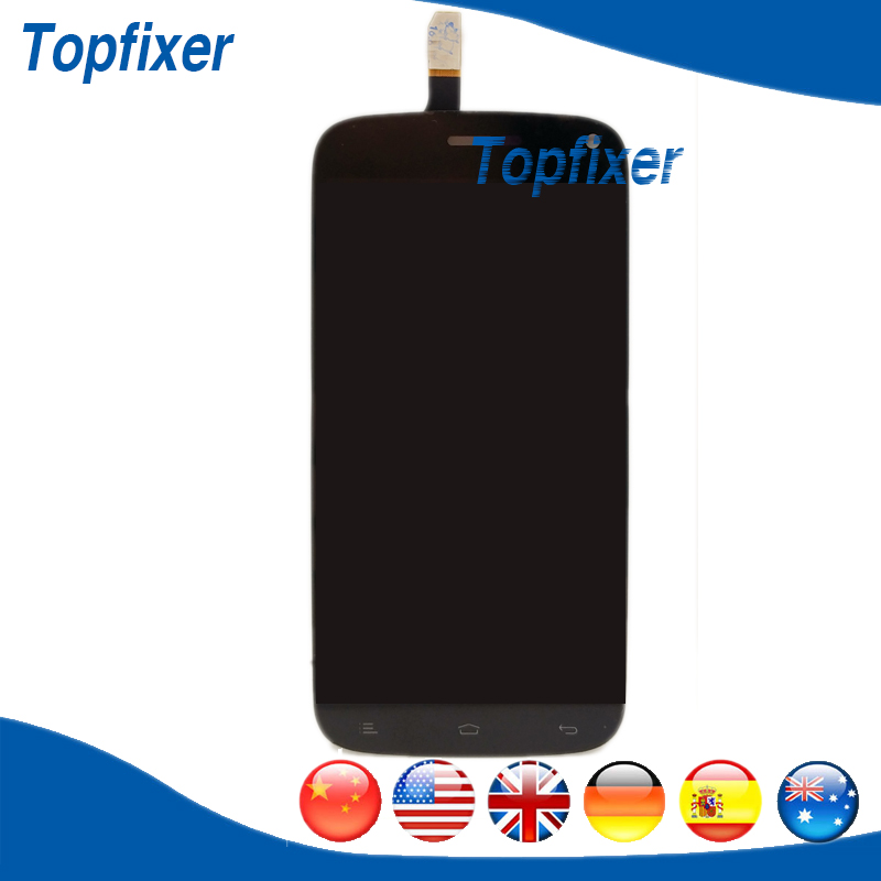 For Fly IQ4410 LCD Display and Touch Screen Digitizer Full Assembly Black Color 1PC/Lot<br>