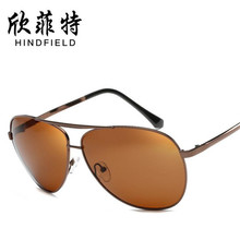 New Men Driver drive high definition Polarized sunglasses Alloy frames glasses Men enjoy UV400 Blocking glare lens Eyeglasses