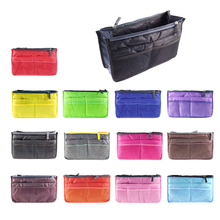 Cosmetic Container Storage Bag Make Up Organizer Holder Multifunction Zipper Portable Travel Storage Bag(China)