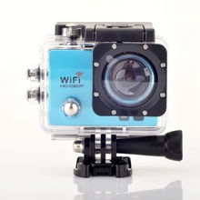 POWPAC  Camera  Q3 2.0 Inch 30M Waterproof Sports Action Camera 12M 1080P Full HD Wi-Fi Anti-shake DV with Remote Control Watch