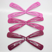 Wholesale 12 pieces/set purple gradual change snap hair clips for women girls hair accessories(China)
