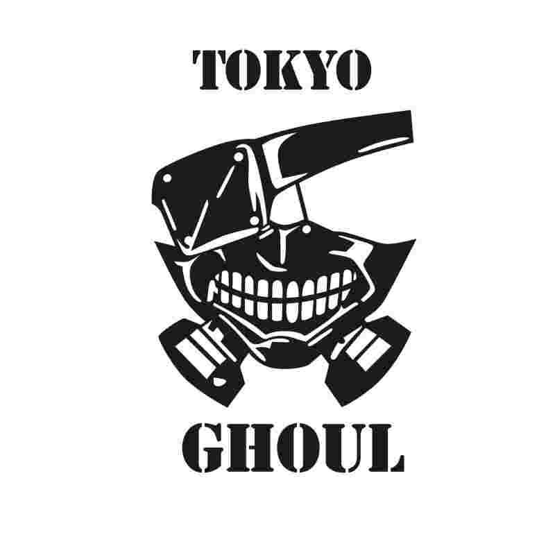 Pegatina Tokyo Ghoul Sticker Anime Cartoon Car Decal Sticker Vinyl Wall Stickers  Decor Home Decoration