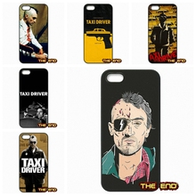 The Taxi Driver (1976) Movie Poster Cell Phone Case Cover For iPhone 4 4S 5 5C SE 6 6S 7 Plus Galaxy J5 A5 A3 S5 S7 S6 Edge