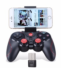 Buy Gen Game S5 Wireless Bluetooth Game Controller Gamepad Bluetooth 3.0 Joystick Android IOS Phone TV Box Tablet PC Holder for $6.12 in AliExpress store