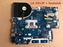 NEW75 LA-5912P + heatsink= LA-5911P FOR ACER Aspire 5552G 5551G Laptop motherboard E640 MB.BL002.001 (MBBL002001) DDR3