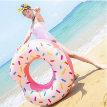 140604/Donut swimmer adult female armpit ring inflatable floating bucket life circle plus thickening laps(China)