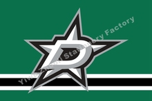 Dallas Stars Flag NHL National Hockey League 3ft X 5ft Polyester Banner Flying 150* 90cm Custom Flag Sport Helmet DS3