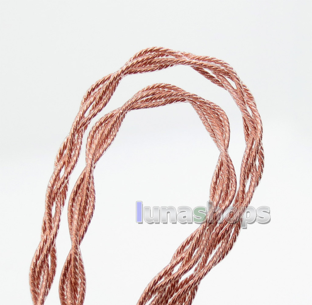 Semi-finished Extremely Soft PVC OCC Bulk DIY Earphone Cable Wires LN005912