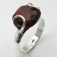 Silver RED TIGER'S EYE Beautiful Ring Size 9.25 Jewelry Store