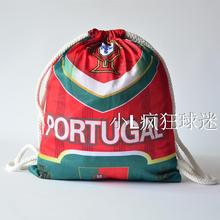 sports outdoor polyester Portugal soccer bag Portable football fan football boots shoes bag Fans souvenirs storage bag gift