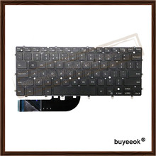 Original Black Laptop Replacement US English Keyboard For DELL XPS 13 9343 Tested Well With Backlight(China)