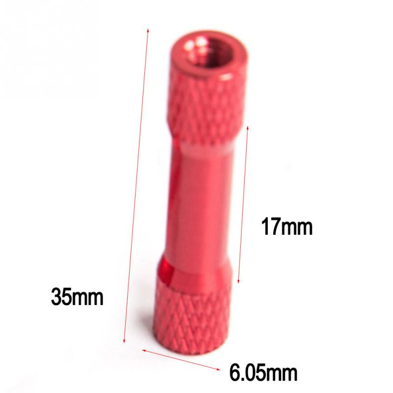 high quality Textured Aluminum Spacers M3 * 25 M3X25 25mm Round Alloy Spacer Stud Closure For FPV RC Drone Accessories