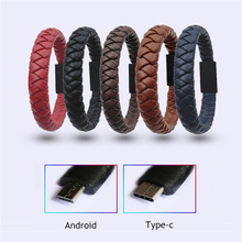 Bracelet USB Cable iPhone Samsung Type C Micro usb Fast Charging Data Sync Cable Huawei Xiaomi Mobile Phone cable