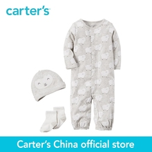 Buy Carter's 3-Piece baby children kids clothing neutral Cotton Babysoft Take-Me-Home Set 126G924 for $11.48 in AliExpress store