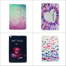 Fashion flower soft tpu cover Case for Samsung Galaxy Tab 3 Lite T111 T110 7.0 Samsung T110 with screen film