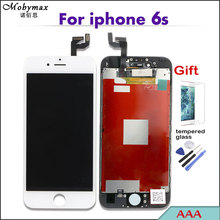 AAA Digitizer Display Touch LCD Screen for iPhone 4S 5S 6 6S 7 Replacement(China)