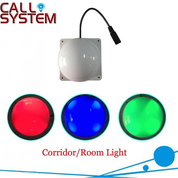 Digital Wireless nurse call light system romm/corridor light used for hospital/nursing house/clinic<br>