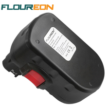FLOUREON BAT025 18V 2000mAh Rechargeable Battery Packs Power Tools Battery Replacement Cordless Drill for Bosch 335 536 Ni-CD