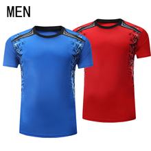 2017 new tennis shirts, men's summer badminton / tennis suits, running short sleeves, quick drying and breathable ball clothes(China)