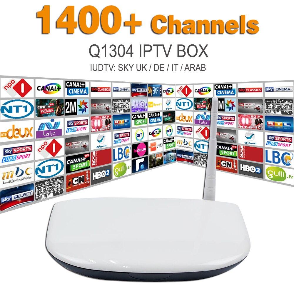 Europe Arabic IPTV Apk Server Sky Program Canal Sport 1400 Channels Free Q1304 Iptv Quad Core Android Box Arabic Smart Tv Box<br><br>Aliexpress