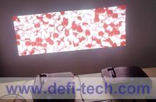DEFI Double screen Interactive floor system support 2 projectors with 16 effects now