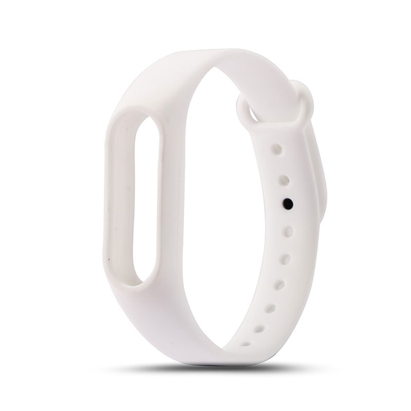 For Xiaomi Mi Band 2 Wristbands Colorful Soft Replacement Silicone Strap Case for Mi Band 2 Smart Bracelet Cover Accessories