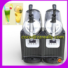 220V110V Commercial Two Tank Slush Machine+Ice Cream Machine For Cafeteria Coffee Shop Restaurant Commercial Business(China)