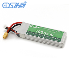 GDSZHS RC Power Lipo Battery 3000mAh 11.1V 3S 30C for Trex 450 CX20 Helicopter RC Airplanes Cars Li-PO battery(China)