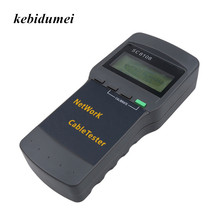 kebidumei Portable SC8108 LCD Wireless Network Tester Meter&LAN Phone Cable Tester & Meter With LCD Display RJ45(China)