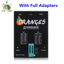DHL Special Offer OEM Orange5 Professional Programming Device With Full Packet Hardware + Enhanced Function Software orange 5(China)