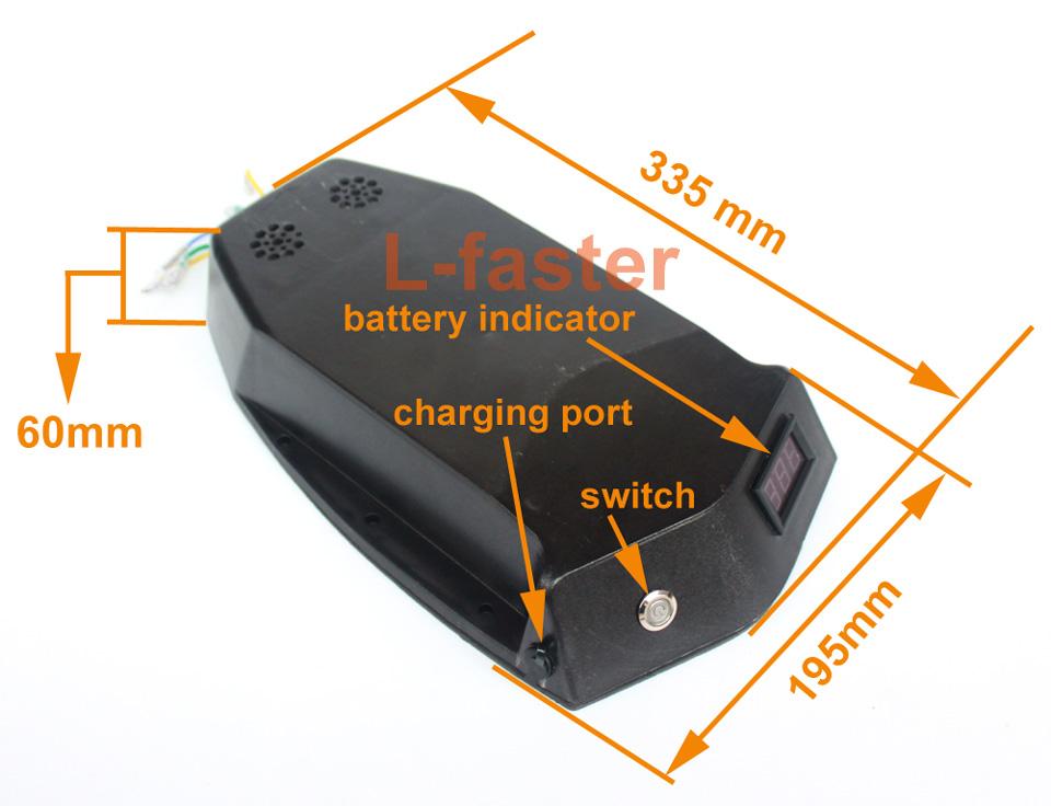 electric skateboard dual motor drive battery set -2-a