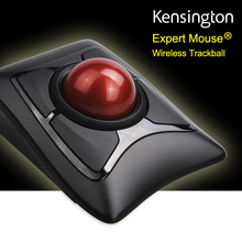 Newest Kensington Wireless Expert Trackball Mouse 2.4GHz/Bluetooth 4.0(Large Ball Scroll Ring) with Retail Packaging