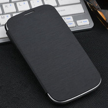 Original Flip PU Leather Back Cover Battery Housing Case for Samsung Galaxy S3 i9300 9300 Mobile Phone Cases(China)