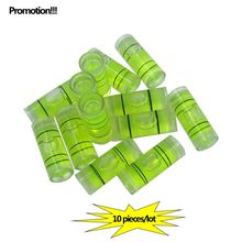 Promotions!! 10PCS/LOT Acrylic tube vial Level bubble Photo Frame TV rack Cylindrical Bubble Level Size 9.5*25mm