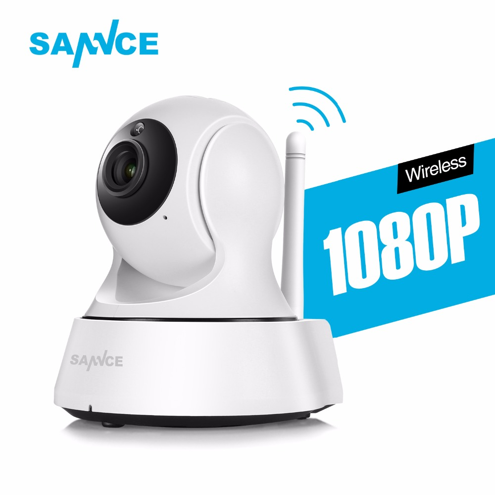 SANNCE 1080P IP Camera 2.0MP Smart Wireless Security Camera 1080P WIFI Camera indoor Baby Monitor Network Mobile Remote<br>