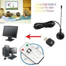 Buy XinSiLu Mini USB DVB-T Digital TV HD Receiver Tuner Stick OSD MPEG-2/4 Laptop PC DE15 Drop for $7.59 in AliExpress store