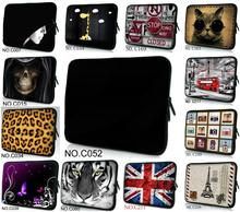 "Free Shipping 10"" 12"" 13"" 14"" 15"" 17"" Colorful Laptop Notebook Sleeve Bag Waterproof Sleeve Case in Computer Laptop Tablet PC(China)"
