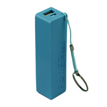 2017 Portable Power Bank 18650 External Backup Universal Battery charger for Mobile phone Charging Banco de energia Blue(China)