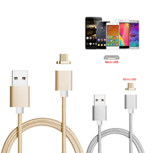 2.4A Magnetic Micro USB Charger Charge Adapter Cable For Samsung HTC LG Huawei(China)