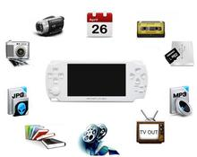 4.3 Inch PMP Handheld Game Player 8GB MP5 Video FM Camera TV OUT Portable touch screen Game Console Multimedia Player 10pcs