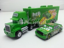 Pixar Cars Mack Uncle & No.86 Chick Hicks Diecast Toy Car Loose 1:55 Brand New In Stock & Free Shipping