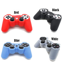 Silicone Protective Case For PS3 Controller Rubber Coque De Manette Shell For Sony PlayStation 3 Controller Game Accessories
