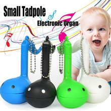 MUQGEW Small Tadpole Electronic Musical Melody Instrument Charm Electronic Organ Toy Vocal Toys for Children BABY(China)