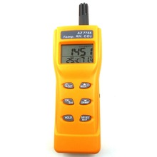 Digital CO2 tester air quality monitor gas Analyser CO2 meter thermometer Hygrometer humidity Meter 3-in-1 CO2 Detector AZ7755(China)